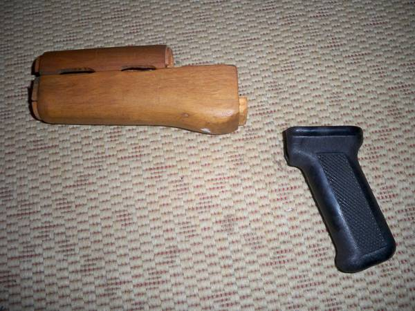 foregrip and handle for AK-47 - $10 (spring branch)