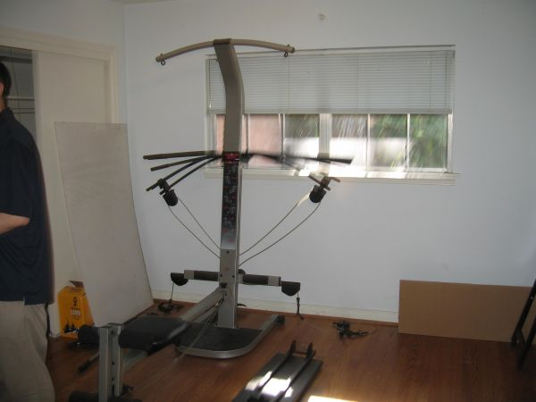 Crossbow weight machine espotted