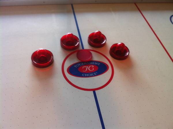 Tournament Choice Air Hockey Table - $100 (NW- Cy Fair)