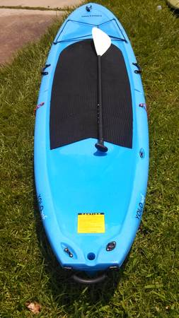 SUP STAND UP PADDLE BOARD YOLO YAK 11FT 10 - $400 (WILLIS)