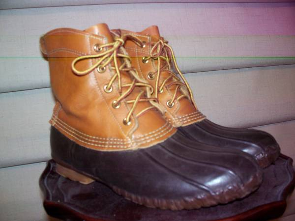 Hunting boots L.L.Bean-femaile - $50 (Spring)