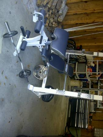 Iron Grip Strength Weight Bench - $240 (The Woodlands)
