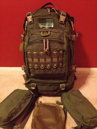EAGLE INDUSTRIES MULTI MISSION MILITARY TACTICAL BACKPACK RUCKSACK - $150 (HOUSTON 290JONES RD)