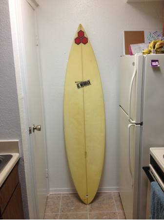 64 al Merrick surfboard - $300 (Galveston)