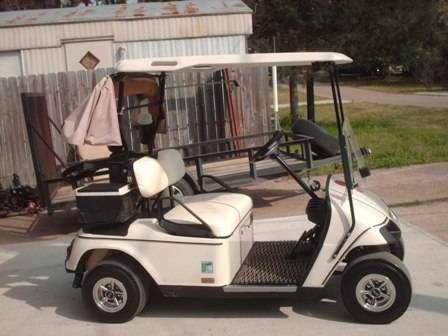 04 PDS EZ-Go Golf Cart with speed chip, lights - $1700 (Willis N Side of Lake Conroe)