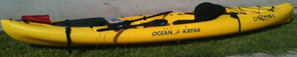 NEW Ocean Kayak Drifter - sit on top kayak wpaddle and seat - $750 (Spring, TX)