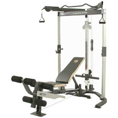 Ultimate golds gym squat rack - $450 (Clearlake )