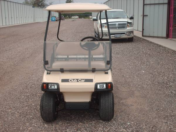 08 Club Car IQ Golf Cart with 011 Trojan batteries, lights, back seat - $2500 (Willis N Side of Lake Conroe)