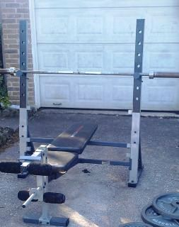 Marcy olympic weight bench - $50 (Channelview)