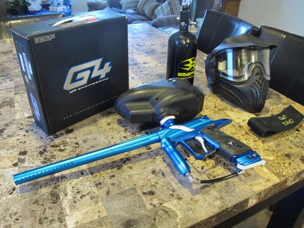 Dangerous power g4 paintball gun - $350 (katyrichmond)