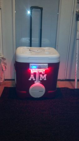 Texas AM or Texans or Cowboys or Longhorns Ice Chest Stereo - $450 (Houston)
