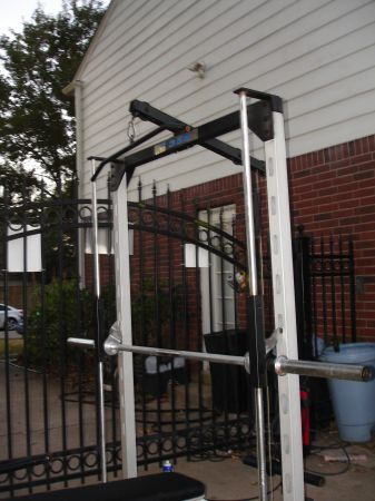 Smith Machine Weider Pro 355 squate bench pull downs shoulder press - - $100 (Katy I-10)