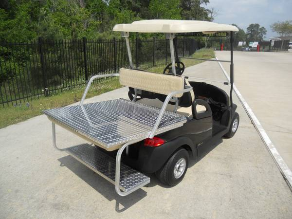 2010 Black Golf Cart NEW Batteries Special Rear seat (montgomery,lake conroe area,hwy.105)