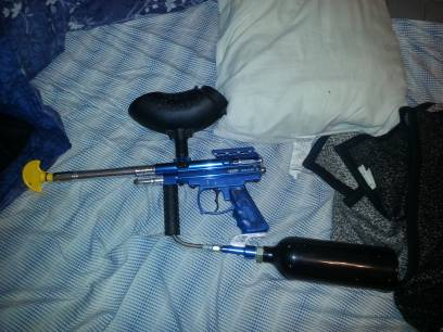 spider victor 2 paintball gun - $1 (conroe)