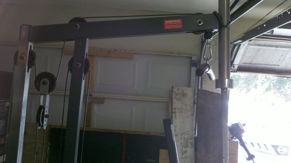 weight bench and squat rack - $400 (friendswood)