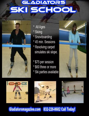 Ski Snowboard Lessons - $60 (HoustonMissouri City)