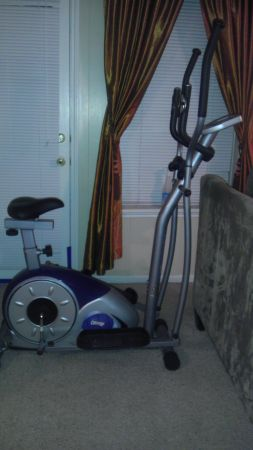 Elliptical STRIDE CYCLE 2-IN-1 - $250 (HOUSTON)