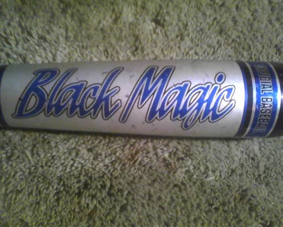 Easton Black Magic CU31 Baseball Bat 2 34 Big Barrel 3329 MDLBX11 - $130 (West Houston CyFair Bear Creek)