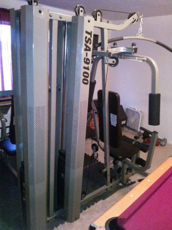 Fitness Equipment Weight Bench - $300