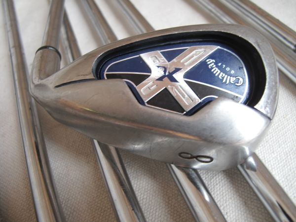 Golf Club Complete Set - Callaway X18 Irons, TaylorMade Driver - $425 (Sugar Land)
