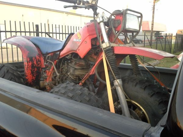1983 Honda 250R 3 wheeler - $800 (League city)