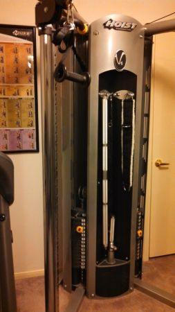 Home Gym Hoist V6 Cable Weights - $750 (Sugarland, TX)