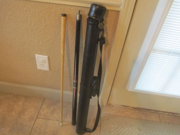 Viper Pro Series Pool Cue Stick 19 oz With Carry Case Q-Vault NICE - $30 (Deer Park East of Houston Near Hwy 225)