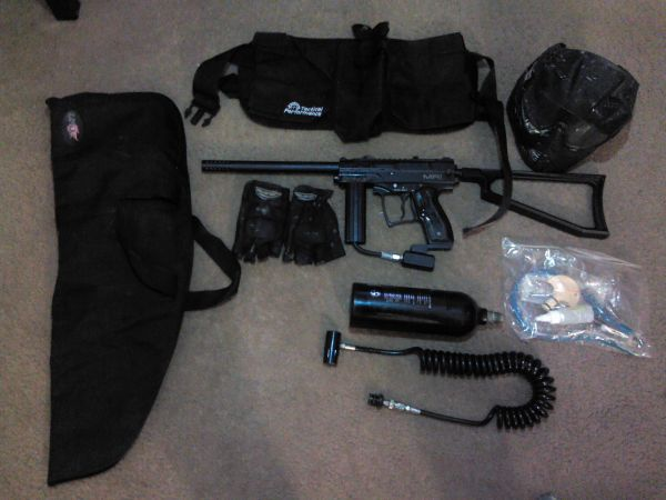 Complete Paintball tactical package - $175 (lake jackson)