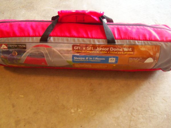 Ozark Trail 6ft x 5ft Junior Dome Tent - $10 (Katy)