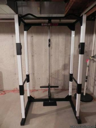 Weider Pro XT75 Weights and lifting station wpull-up bar and dip station - $600 (Katy )