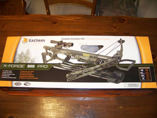 Eastman Outfitters X-Force 800 Pro Kit - $549 (Spring, Texas)