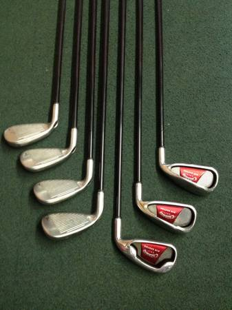 2008 Callaway Big Bertha Irons 4-PW - $250 (Conroe, Woodlands)