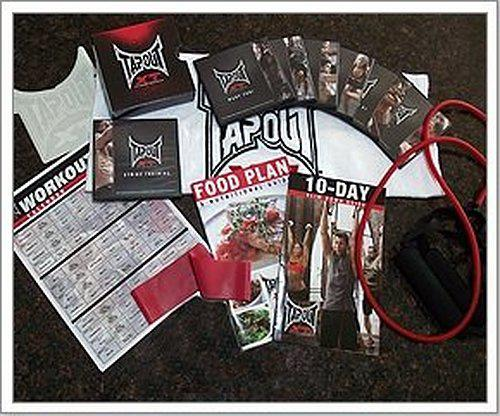 $50, TAPOUT XT DVD WORKOUT TRAINING PROGRAM BASE KIT