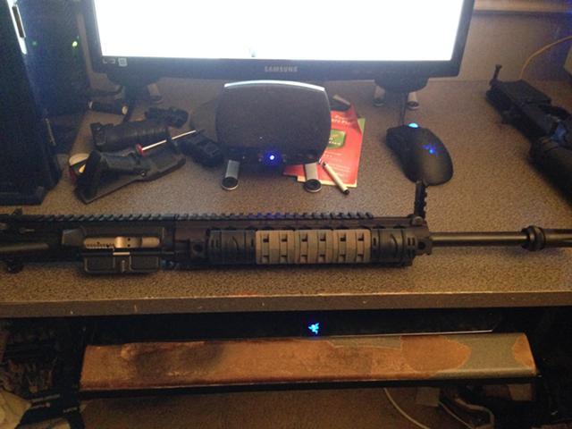 300 AAC Blackout upper or whole rifle for sale