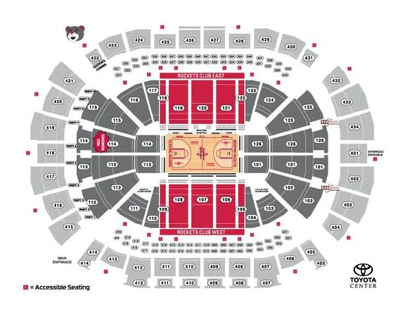 126 Rockets Vs Golden State Warriors Lower Bowl Below Face Value - $1 (humble)