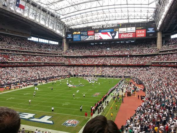 2 Tickets Plus Blue Parking Texans vs Seahawks 929 - $285 (Sec. 348 2nd Row Corner of the Endzone)