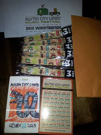 ACL Tickets Weekend 1 - Face Value - $225 (Austin)