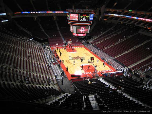 Houston Rockets Miami Heat 4 Tickets Parking Pass 31414 Tuesday - x0024125 (Section 420 Row 3 and 8)