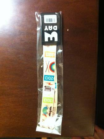 ACL Wristband for this weekend (Oct 4-6th) - $190 (Houston, TX)