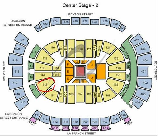 Josh Groban 2 or 4 Tickets $65 Each-Section 112 Row 27 Toyota Nov. 12 - $130 (Toyota Center )