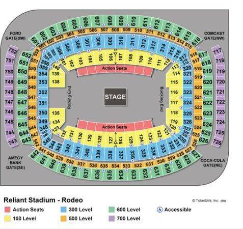 Club Seats - George Strait - $500 (The Woodlands)