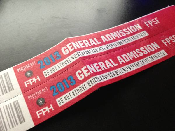 Two (2) Free Press Summerfest General Admission Passes - $150
