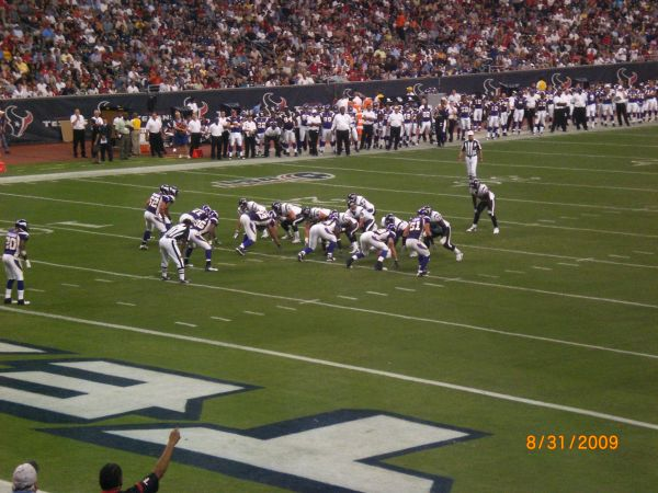 Houston Texans vs. Minnesota Vikings Tickets Field LevelYellow PPass - $250 ((832) 358-5682 (For Sale by PSL Owner))