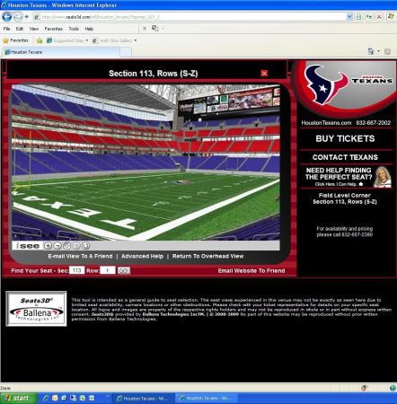 Houston Texans vs. Cincinnati Bengals Tickets Field LevelYellow PPass - $240 ((832) 358-5682 (For Sale by PSL Owner))