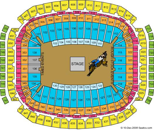 2 Styx Rodeo tickets, section 109 ROW E, parking pass - $50 (the woodlands)