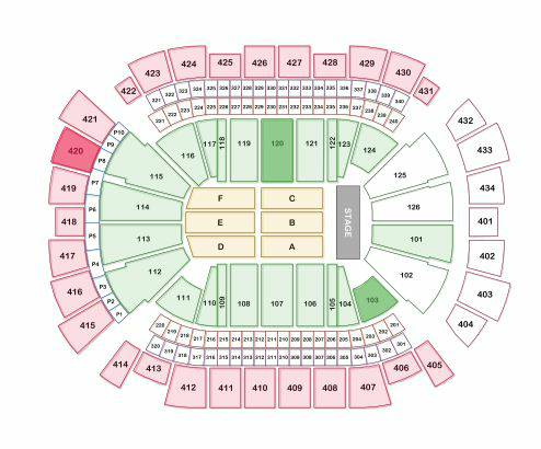 Bruno Mars at Toyota Center - $180 (Section 103 120)