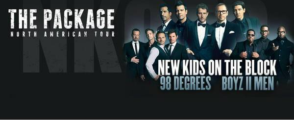 New Kids On The Block Package Tour - $85 (June 27th - Toyota Center)