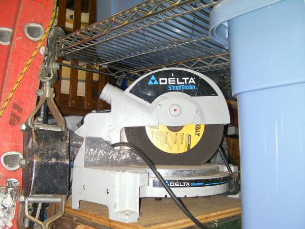 Delta Shopmaster 10 Chop Saw Miter saw - $60 (NW 610 at 290)