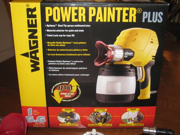 Wagner Power Painter Plus - $60 (Pearland)