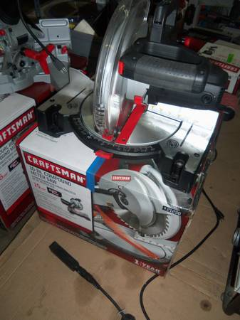 Craftsman 10in. Compound Miter Saw w Laser Trac 15(Low Price) - x002460 (SW Houston77036)